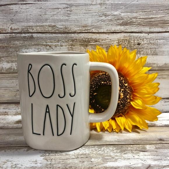 New Rae Dunn Boss Lady Mug